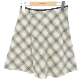 3.1 Phillip Lim Blue Wool Skirt for Women