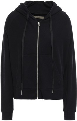 Enza Costa Cotton And Cashmere-blend Jersey Hooded Jacket