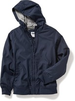 Old Navy Uniform Hooded Windbreaker for Boys