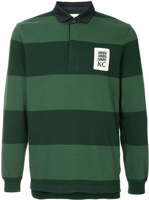 Kent & Curwen Striped Rugby Polo Shirt