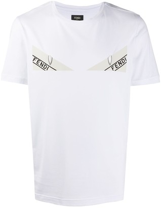 Fendi Bag Bugs-print cotton T-shirt