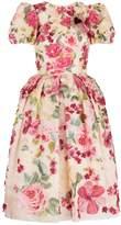 Dolce & Gabbana Floral Appliqué Dress