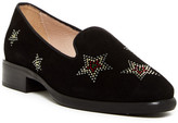 LK Bennett Stella Crystal Studded Loafer