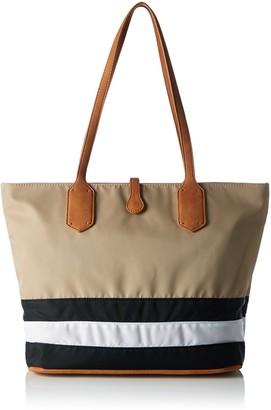 Sansibar Women SA-1259-SB_BLACK/WHITE/TAUPE Cross-Body Bag
