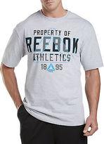 Reebok Graphic Tee Casual Male XL Big & Tall