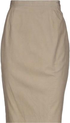 Trussardi Knee length skirts