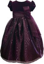 Jayne Copeland Kids Dress, Little Girl Sparkle Dress