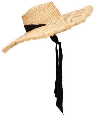 LACK OF COLOR Ventura straw wide-brim hat