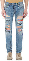 Visitor On Earth Men's Distressed Skinny Jeans