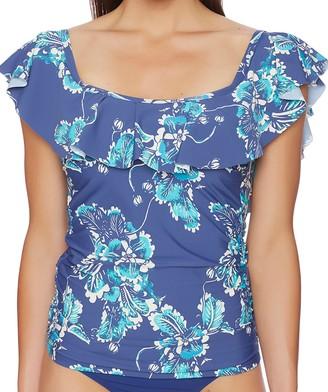Athena Women's Balinese Flutter Swimsuit Tankini Top