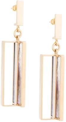 Lapis Crystalline Flourite earrings