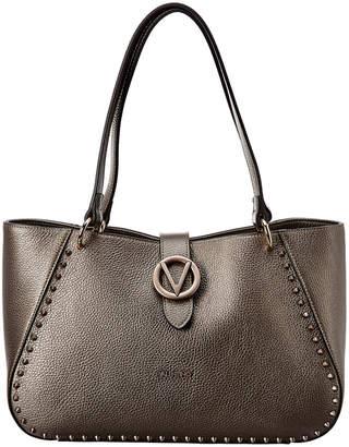 Mario Valentino Valentino By Charlotte Preciosa Dollaro Leather Shoulder Bag