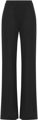 Ann Demeulemeester High Slit Trousers