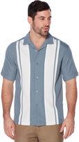 Cubavera Big & Tall Contrast Stripe Shirt