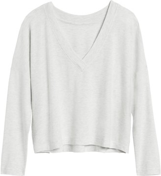 Banana Republic Plush Jersey Boxy T-Shirt