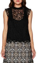 Willow & Clay Women's Lace Sleeveless Top