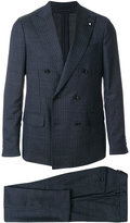 Lardini pinstriped two-piece suit