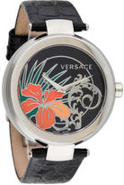 Versace Mystique Hibiscus Watch