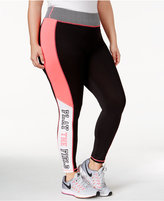 Material Girl Active Pro Plus Size Play The Field Leggings, Only at Macy's