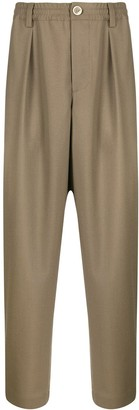 Marni loose fit cropped trousers