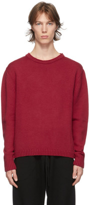 Judy Turner Red Wool Meers Sweater