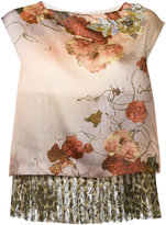 Antonio Marras layered sleeveless top - women - Silk/Polyester - 40