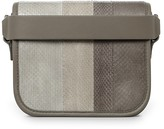 AllSaints Ikuya Watersnake Clutch