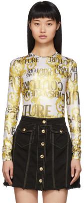 Versace Gold Barocco Bodysuit