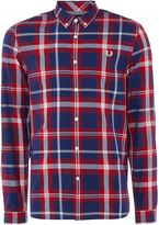 Fred Perry Men's Bold check long sleeve shirt
