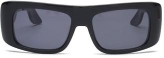Marni Rectangular Acetate Sunglasses - Black