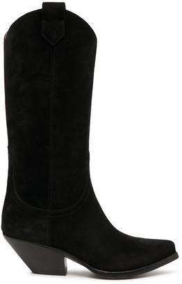 Buttero Elise suede cowboy boots