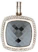 David Yurman Hematine & Diamond Albion Pendant