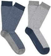 MANGO 2 Pack Striped Socks