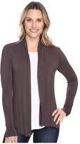 Mod-o-doc Rayon Spandex Jersey Cardigan Women's Sweater