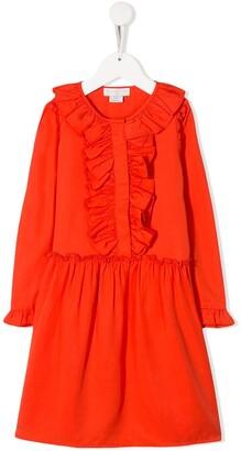 Stella Mccartney Kids Ruffled Dress