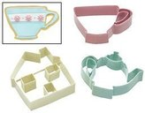 Kitchen Craft Lets Make Sweetly Does It Set of Three Tea Set Cookie Cutters