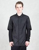 11 By Boris Bidjan Saberi Asymmetric Nylon Shirt