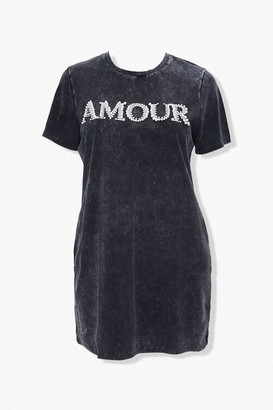 Forever 21 Plus Size Amour T-Shirt Dress