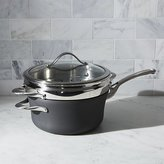 Crate & Barrel Calphalon Contemporary TM Non-Stick 4.5-qt. Saucepan with Steamer