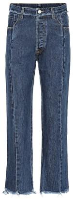 Vetements Raw-hem straight jeans