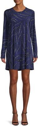 BCBGeneration Star Print Mini Dress