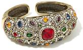 "Heidi Daus Wait No More"" Crystal-Accented Cuff Bracelet"