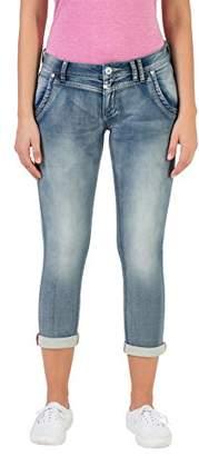 Timezone Women's Slim Nalitz Jeans, (Aqua Blue Wash 3039), (Size: 24)