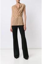 Derek Lam Asymmetrical Drape Sweater