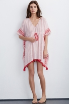 Janessa Embroidered Beach Cover-Up