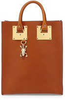 Sophie Hulme Mini Buckled Leather Tote Bag, Tan