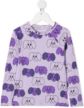 Mini Rodini Fluffy Dog Print Sweatshirt