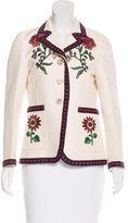 Gucci 2016 Floral Embroidered Blazer