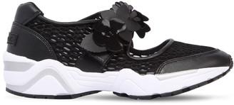 SUECOMMA BONNIE 40mm Flower Strap Mesh Sneakers