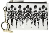 Alice + Olivia Evy Zip Coin Key Charm Wallet